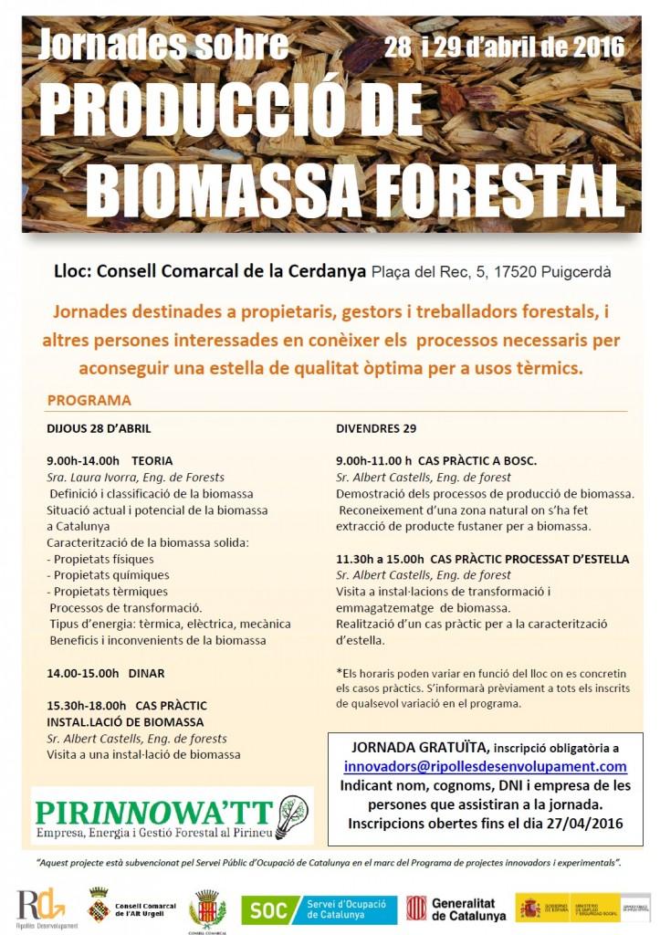 jornades biomassa
